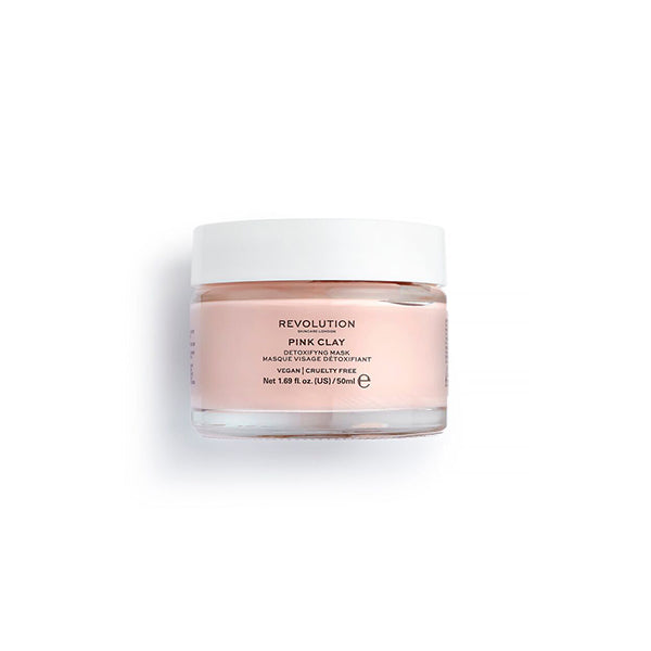 Revolution Pink Clay Detoxifying Face Mask