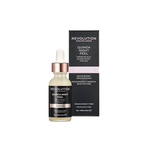 Revolution Gentle Night Peeling Serum - Quinoa Night Peel