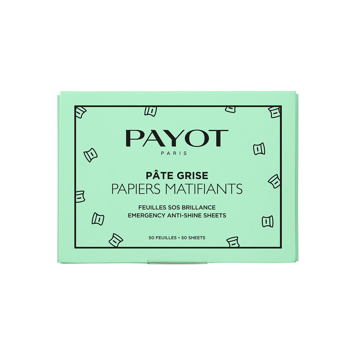 Payot Pate Grise Emergency Anti Shine Sheets