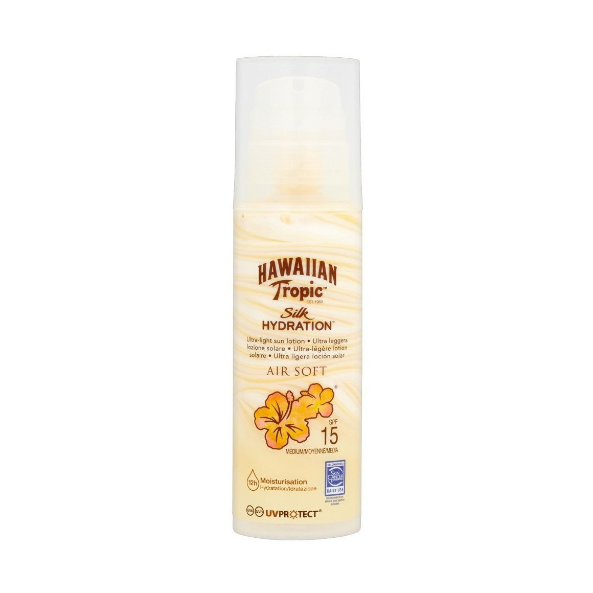 Hawaiian Tropic Silk Hydration Air Soft Sun Lotion SPF 15