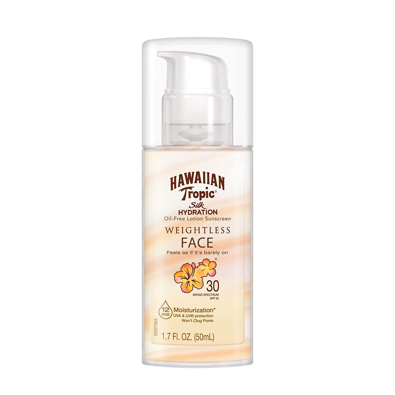 Hawaiian Tropic Silk Hydration Air Soft Face Sun Lotion SPF 30