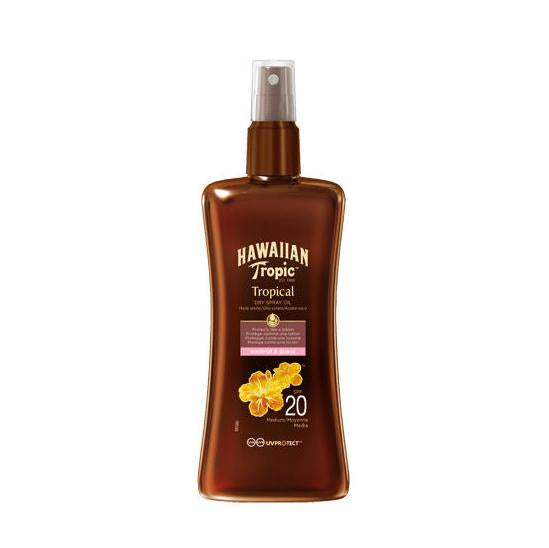 Hawaiian Tropic Protective Dry Oil Spray SPF 20
