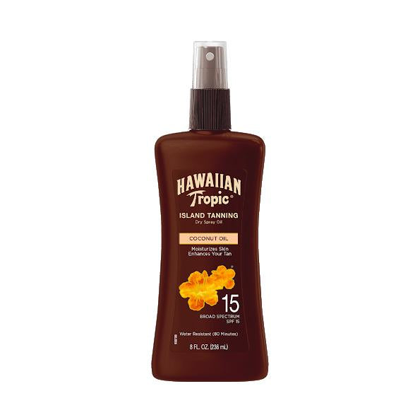 Hawaiian Tropic Protective Dry Oil Spray SPF 15