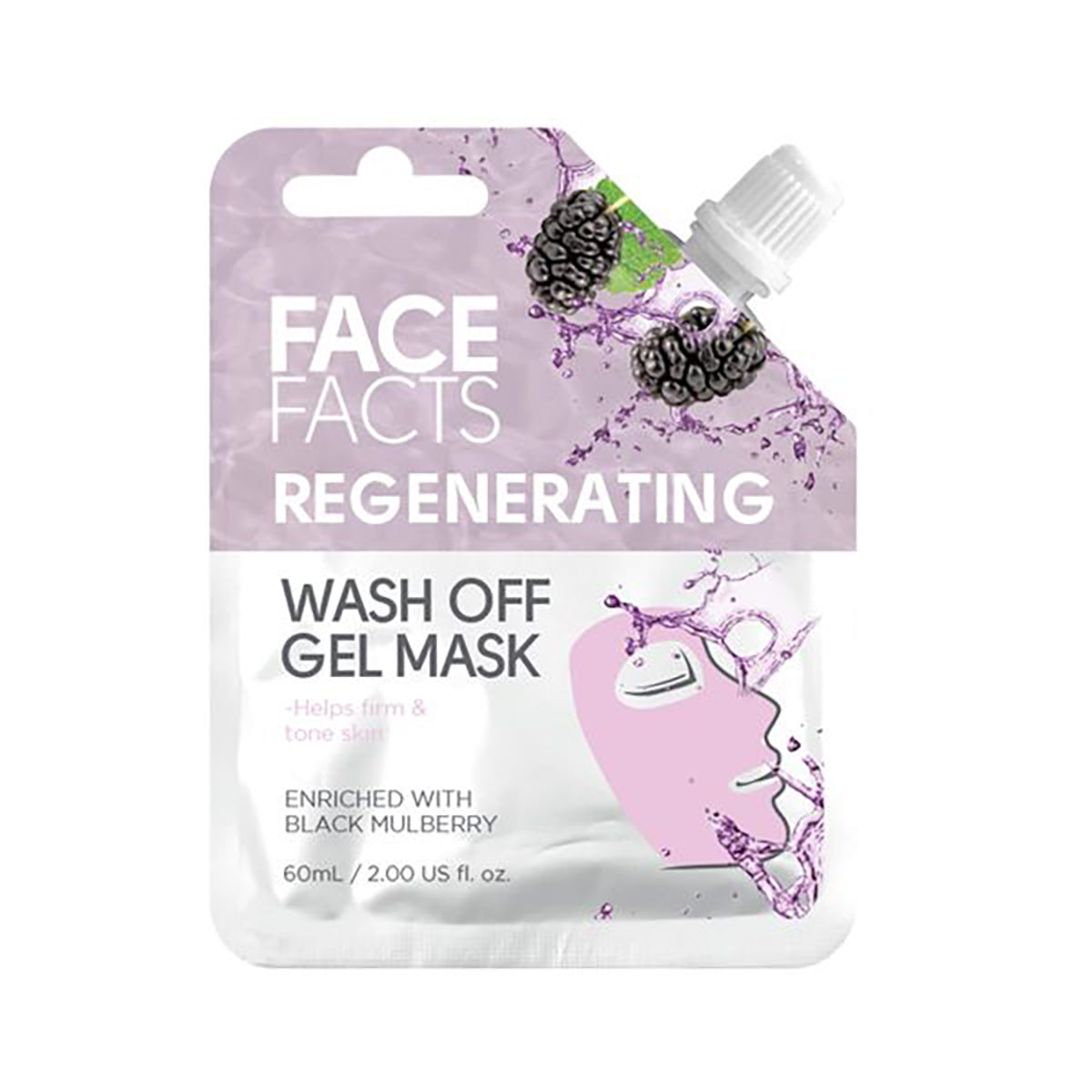 Face Facts Regenerating Wash off Mask