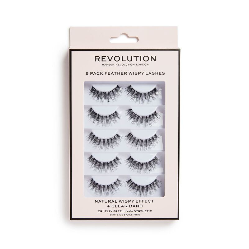REVOLUTION WISPY LASHES - 5 PACK