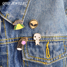 4pcs/set pins alien