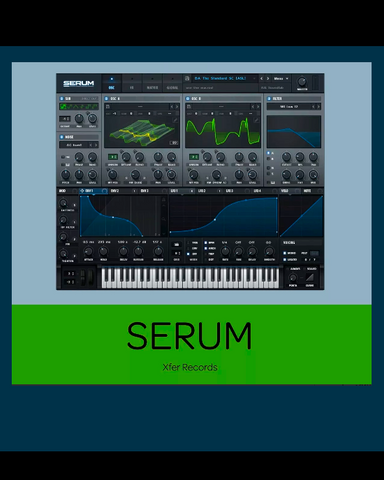 Xfer Serum + Cthulhu | Vst Au Aax | Win Mac | License
