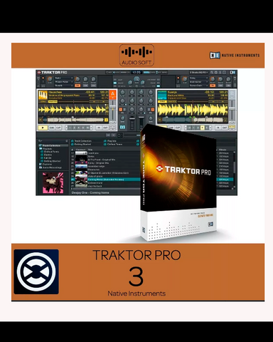 Traktor 3 Pro for Mac or Win