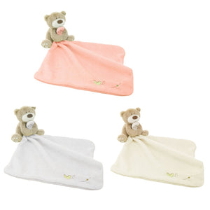 Infant Reassure Towel Newborn Bear Blankie Development Baby Plush Toys Baby Appease Towels Educational Xmas Gifts 88 BM8