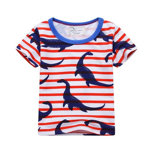 Baby Boys Clothes Children T shirts Summer 2018 Brand Toddler Boys Tops Character Pattern Boy Tshirt Fille Kids Clothing