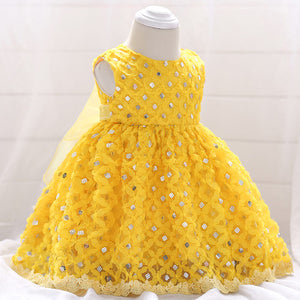 1 Year Toddler baby Girl Dress Baby Girl Birthday Dresses For Girls Kids Wedding Party Wear Newborn Baby Princess Gowns