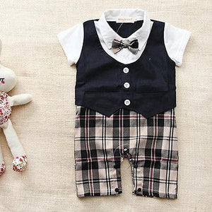 Baby Suit Newborn Romper Boys Outfit Kids Clothes Boy Clothing Kid Party Outfits