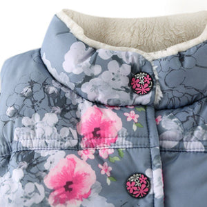 Floral Vest - Baby Girls/Boys Winter Coat