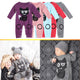 Spring Baby Rompers Gray Baby Boy Clothes Long Sleeve Cotton Cartoon One Piece Clothing Baby Boys Jumpsuit
