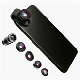 Load image into Gallery viewer, Pro Snap - 5-in-1 Lens Set - Black