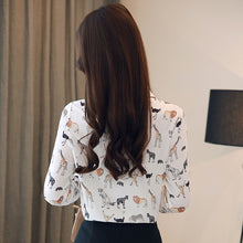 Load image into Gallery viewer, Cute Animals-Print Blouse