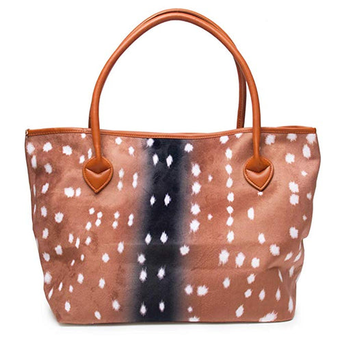 Beautiful Deer Tote Purse
