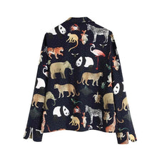 Load image into Gallery viewer, Chic Animal Print Blouse