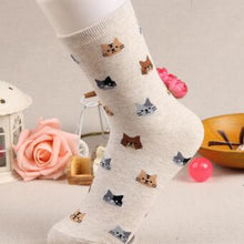 Load image into Gallery viewer, Cute Cat Socks