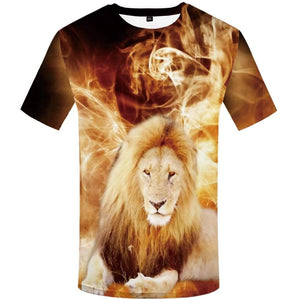 Cool Animal-faced Tees for Men - Short Sleeve