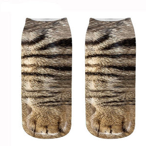 Funky Dunky Animal Print Socks
