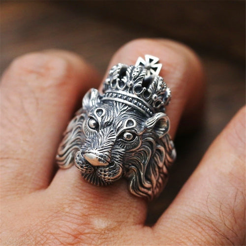 King of the Jungle - Lion Ring