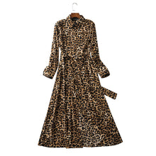 Load image into Gallery viewer, Subtly Sexy Leopard Print Dress