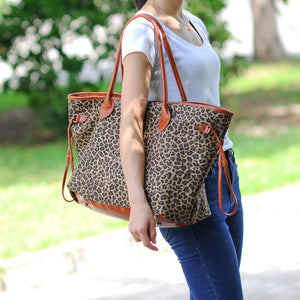 Exotically Fun Leopard Tote Bag