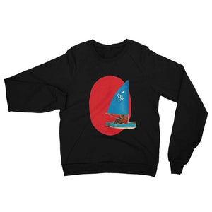 Boat ride - Black / XS - Fleece Sweater