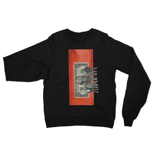 Dollar for the immigrant - Black / XS - Fleece Sweater