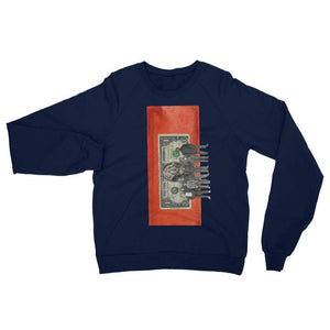 Dollar for the immigrant - Navy / XS - Fleece Sweater