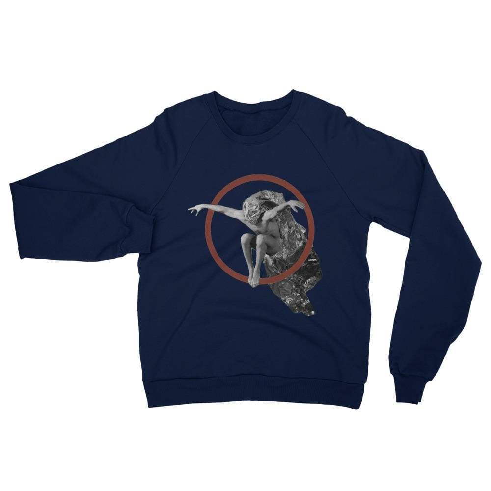 Enter the void - Navy / XS - Fleece Sweater