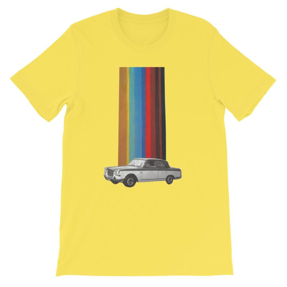 Fear and loathing - S / yellow - T-Shirt
