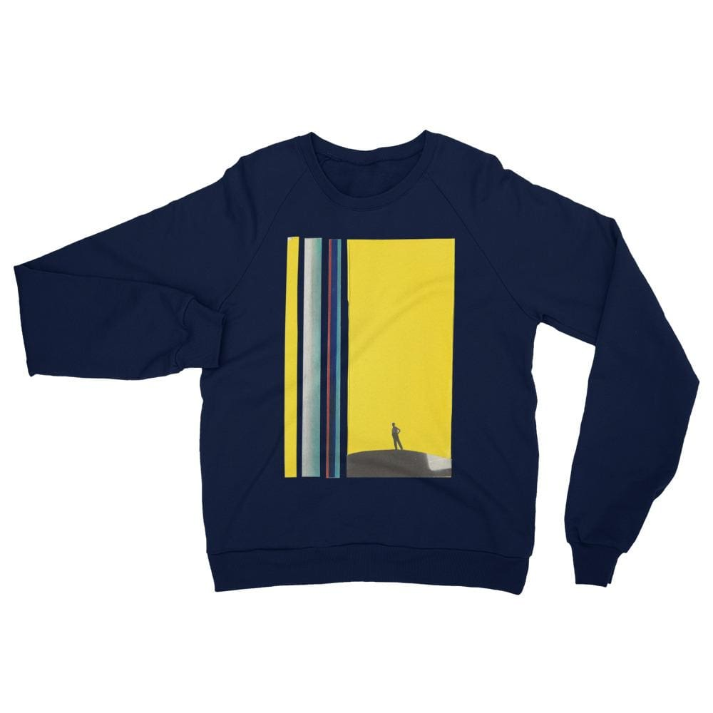 I stand - Navy / XS - Fleece Sweater