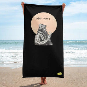 No wifi - butter beach - Towel