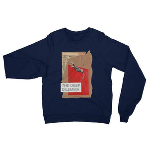The deeper dilemma - Navy / XS - Fleece Sweater