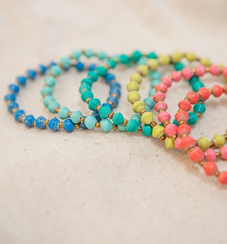 31 Bits - The Most Beautiful Jewelry made from Recycled Paper in Uganda