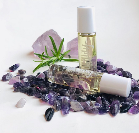Pukalily crystal aromatherapy