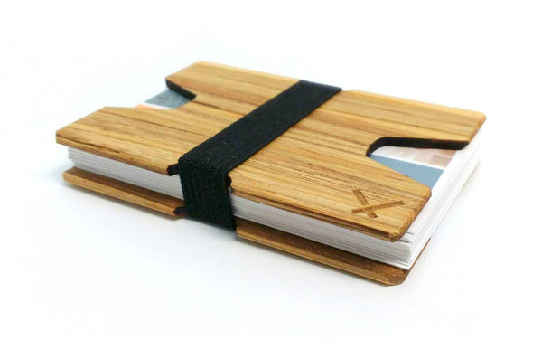 Wood Business Card Holder - Cordova