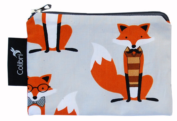 Small Snack Bag - Foxes