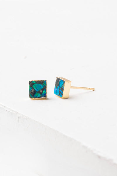 Lena Sophia Multicoloured Stud Earrings