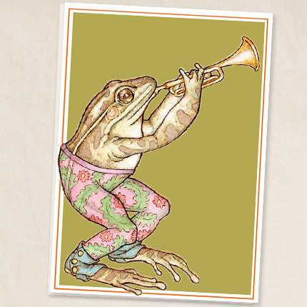 Leah Schell - Frog Card