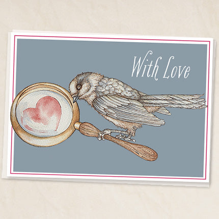 Whiskey Jack - With Love Greeting Card