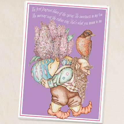 Fragrant Lilacs Greeting Card