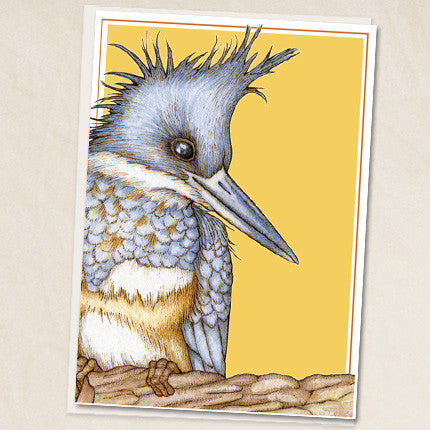Leah Schell - Kingfisher Card