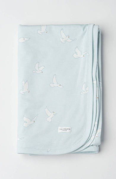 Peace Dove Stretch Knit Blanket