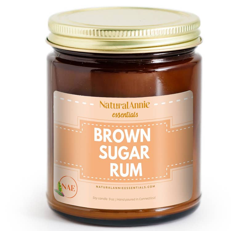 Brown Sugar Rum Soy Candle