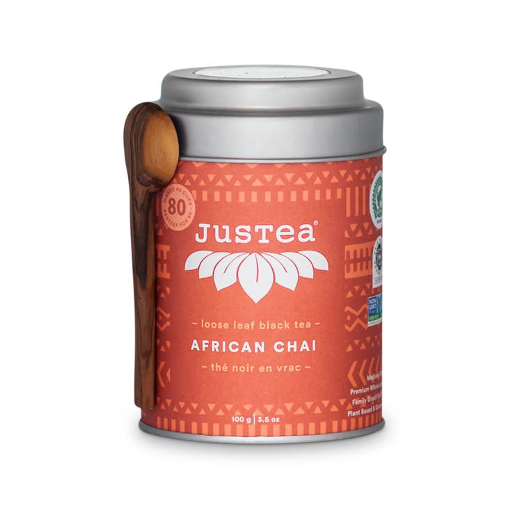 African Chai Tin with Spoon