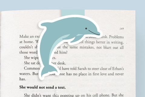 Dolphin Magnetic Bookmark