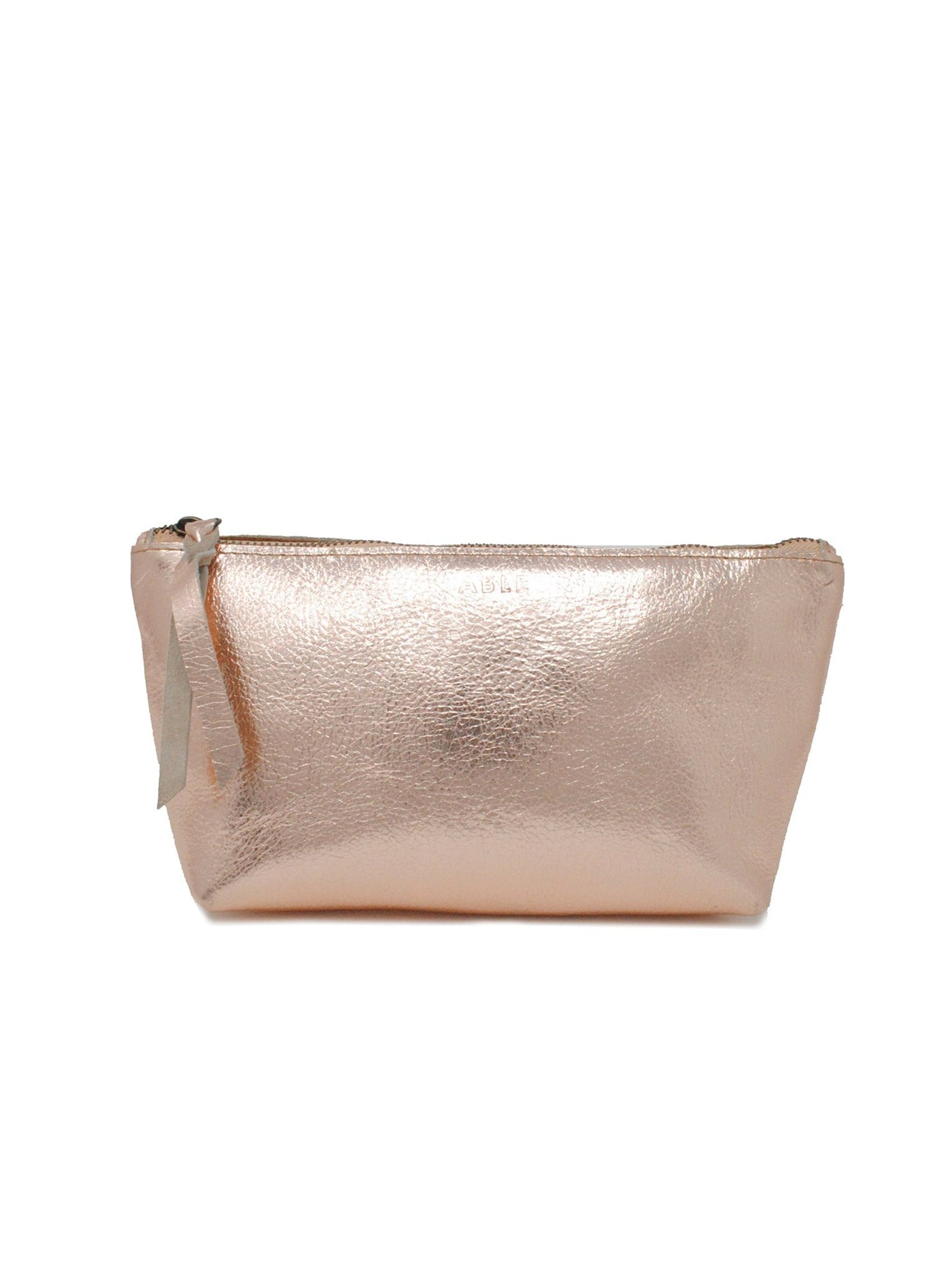 ABLE Emnet Mini Pouch Rose Gold